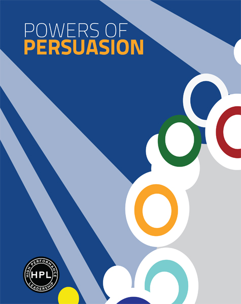 Cover image of booklet on understanding influence and persuasion for leadership development