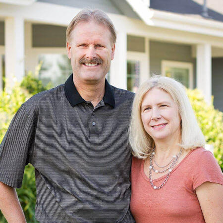 Mike Goossen and his wife